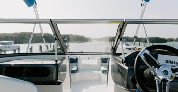 helm of boat